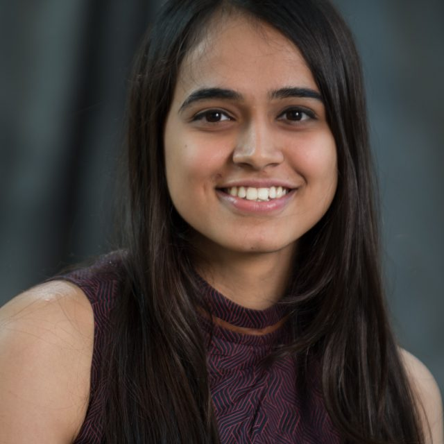 Somaiya, Rachana is a student in the Translational Biology, Medical and Health (TBMH) at Virginia Tech Carilion Research Institute.  (David Hungate/ Virginia Tech Carilion Research Institute)